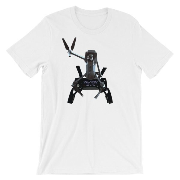 a1f4bfa6 Sitting DJI Mavic Pro Drone with Controller T-Shirt - NINETEES.design