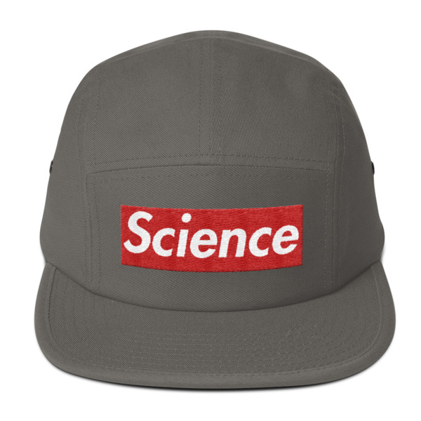 Science Supreme Five Panel Cap Hat - NINETEES.design 717f90e4dda